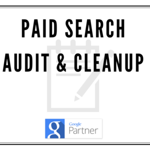 Google AdWords Paid Search Audit